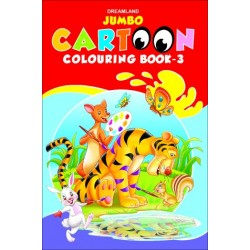 Jumbo Cartoon Colouring Book :3
