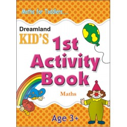 Kid's Activity Books: 1st Activity Book Maths