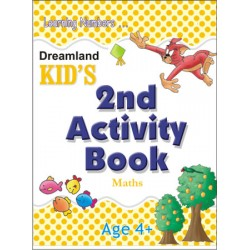 Kid's Activity Books: 2nd Activity Book Maths