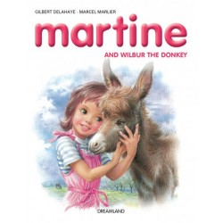 Martine and Wilbur the Donkey