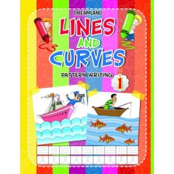 Lines And Curves: Pattern Writing Book-1