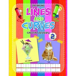 Lines And Curves: Captial Letters Book-2