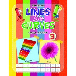 Lines And Curves: Small Letters Book-3