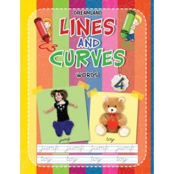 Lines And Curves: Words Book-4