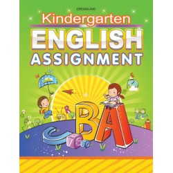 Kindergarten English Practice Book