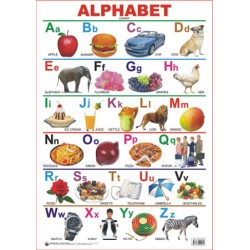 Educational Charts Series : Alphabet