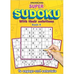 Super Sudoku with Solutions Book - 4