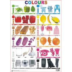 Educational Charts Series: Colours